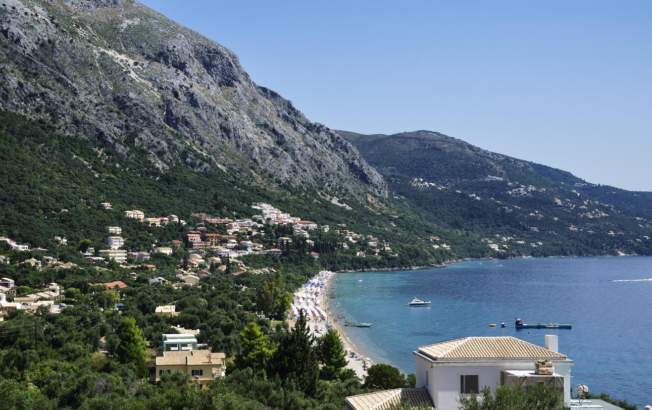 Barbati beach, Corfu island