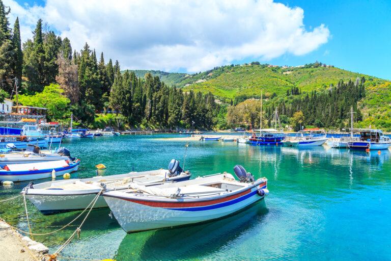 Kouloura in Corfu, Greece